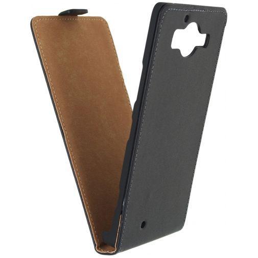 Productafbeelding van de Mobilize Classic Flip Case Black Microsoft Lumia 950