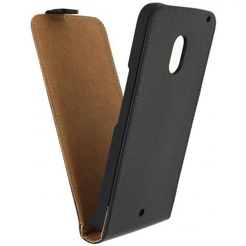 Productafbeelding van de Mobilize Classic Flip Case Black Motorola Moto X Play