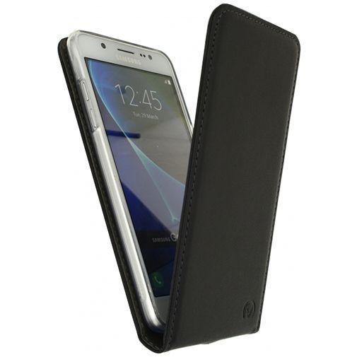 Productafbeelding van de Mobilize Classic Gelly Flip Case Black Samsung Galaxy J5 (2016)