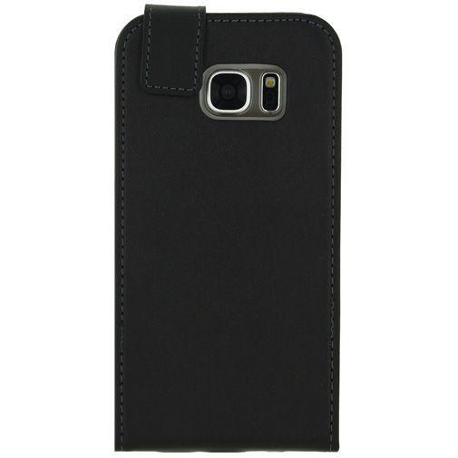 Productafbeelding van de Mobilize Classic Gelly Flip Case Black Samsung Galaxy S7