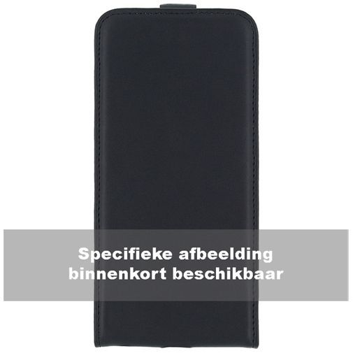 Productafbeelding van de Mobilize Classic Flip Case Black Sony Xperia C5 Ultra