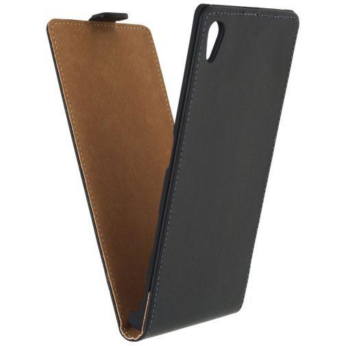 Productafbeelding van de Mobilize Classic Flip Case Black Sony Xperia Z5 Premium