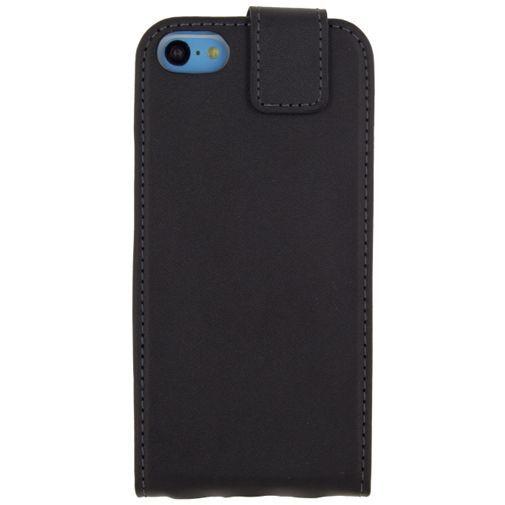 Productafbeelding van de Mobilize Classic Gelly Flip Case Black Apple iPhone 5C
