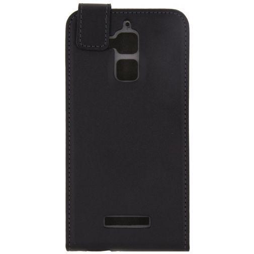Productafbeelding van de Mobilize Classic Gelly Flip Case Black Asus Zenfone 3 Max (5.2