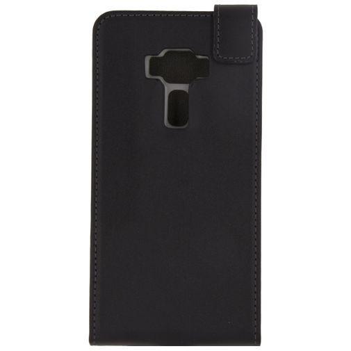 Productafbeelding van de Mobilize Classic Gelly Flip Case Black Asus Zenfone 3 (5.2