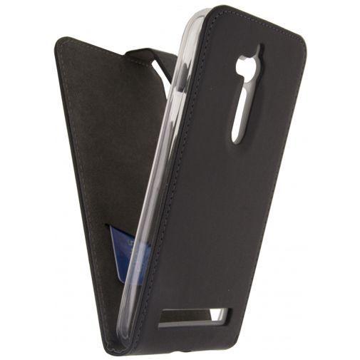 Productafbeelding van de Mobilize Classic Gelly Flip Case Black Asus Zenfone Go (5.0