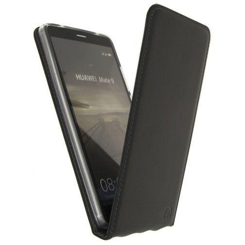 Productafbeelding van de Mobilize Classic Gelly Flip Case Black Huawei Mate 9