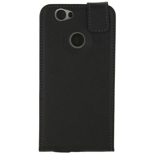 Productafbeelding van de Mobilize Classic Gelly Flip Case Black Huawei Nova