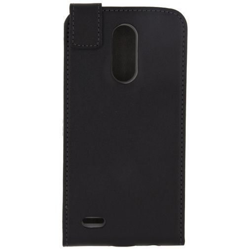 Productafbeelding van de Mobilize Classic Gelly Flip Case Black LG K10 (2017)