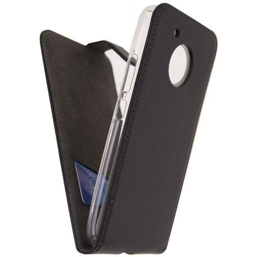 Productafbeelding van de Mobilize Classic Gelly Flip Case Black Motorola Moto G5 Plus