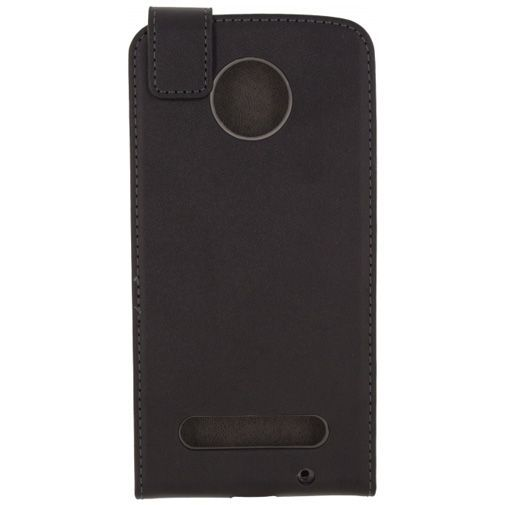 Mobilize Classic Gelly Flip Case Black Motorola Moto Z2 Force
