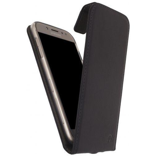Produktimage des Mobilize Classic Gelly Flip Case Schwarz Samsung Galaxy J3 (2017)