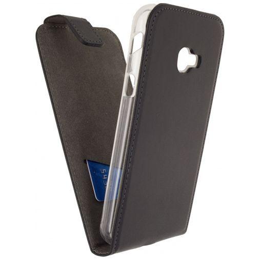 Produktimage des Mobilize Classic Gelly Flip Case Schwarz Samsung Galaxy Xcover 4/4s