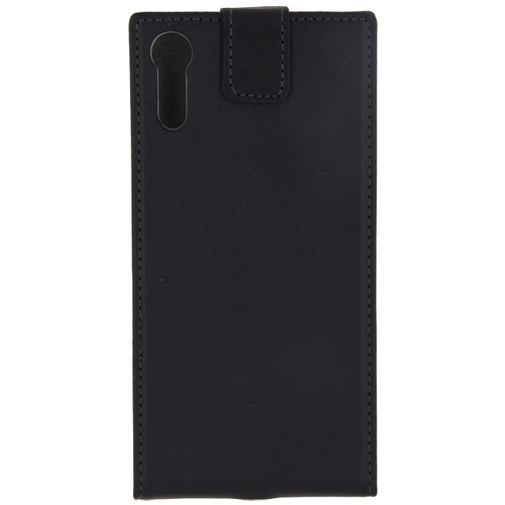 Productafbeelding van de Mobilize Classic Gelly Flip Case Black Sony Xperia XZs