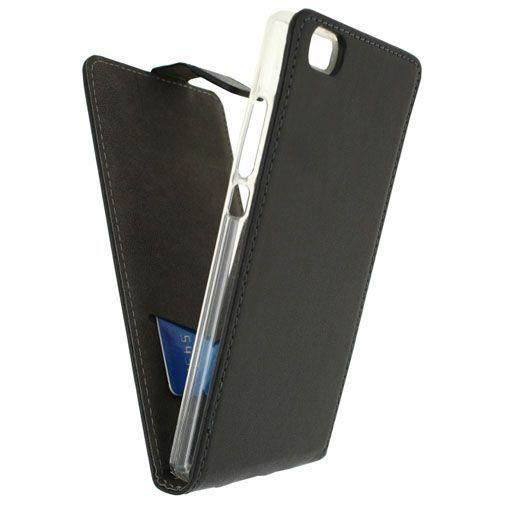 Productafbeelding van de Mobilize Classic Gelly Flip Case Huawei P8 Lite Black