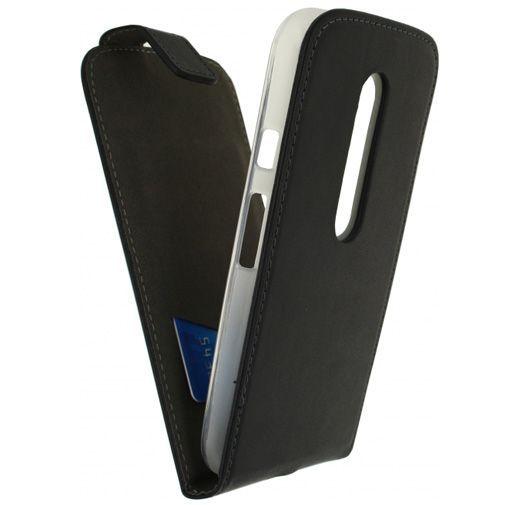 Productafbeelding van de Mobilize Classic Gelly Flip Case Black Motorola Moto G (3rd Gen)