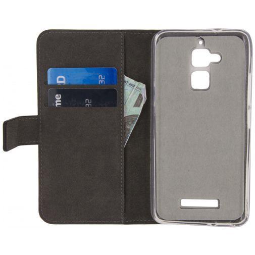 Productafbeelding van de Mobilize Classic Gelly Wallet Book Case Black Asus Zenfone 3 Max (5.2
