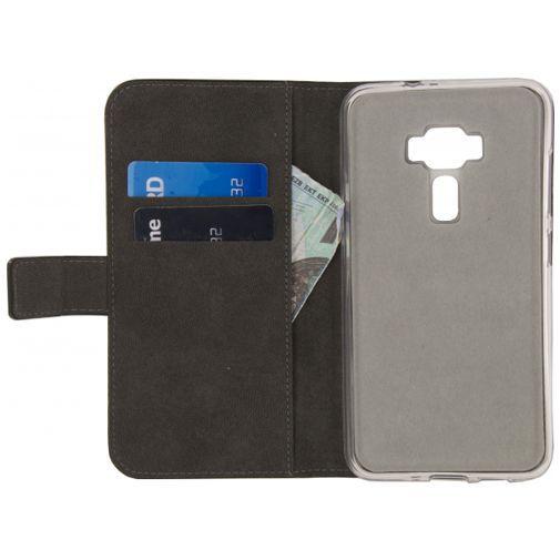 Productafbeelding van de Mobilize Classic Gelly Wallet Book Case Black Asus Zenfone 3 (5.2