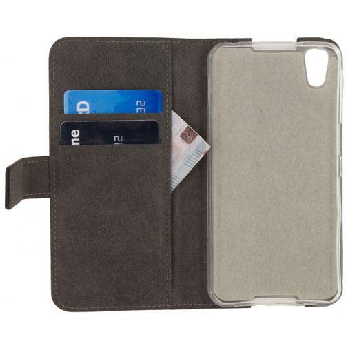 Productafbeelding van de Mobilize Classic Gelly Wallet Book Case Black BlackBerry DTEK50