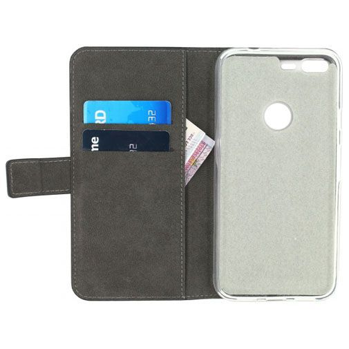 Productafbeelding van de Mobilize Classic Gelly Wallet Book Case Black Google Pixel XL