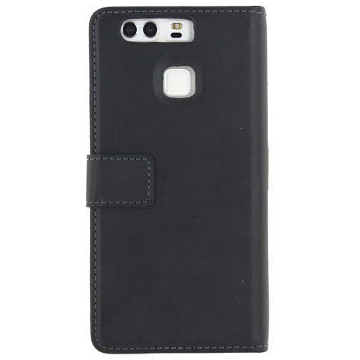 Productafbeelding van de Mobilize Classic Gelly Wallet Book Case Black Huawei P9