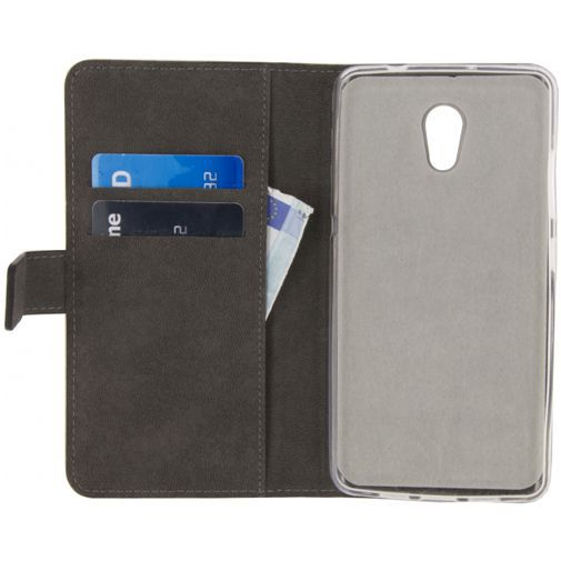 Productafbeelding van de Mobilize Classic Gelly Wallet Book Case Black Lenovo P2