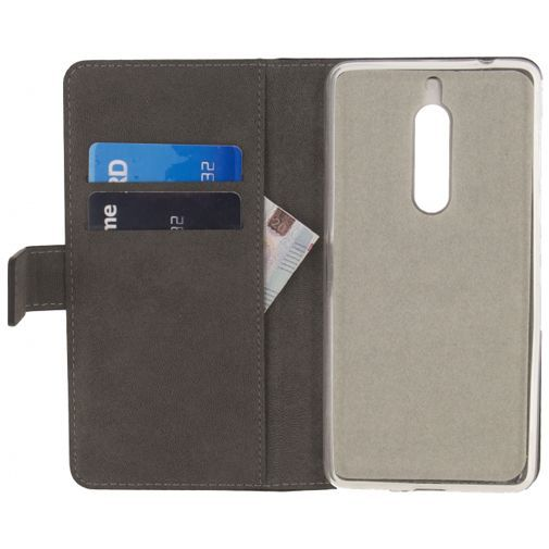 Productafbeelding van de Mobilize Classic Gelly Wallet Book Case Black Nokia 5