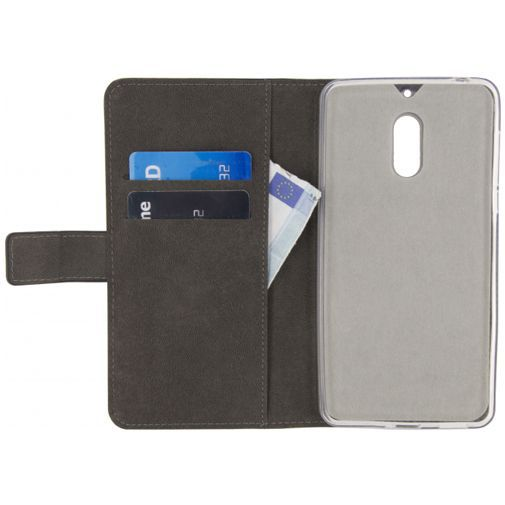 Mobilize Classic Gelly Wallet Book Case Black Nokia 6