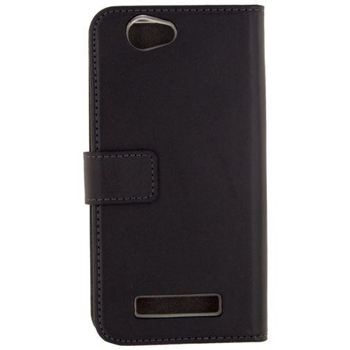 Productafbeelding van de Mobilize Classic Gelly Wallet Book Case Black Wileyfox Spark+