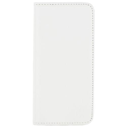 Productafbeelding van de Mobilize Classic Gelly Wallet Book Case White Samsung Galaxy J1 2016