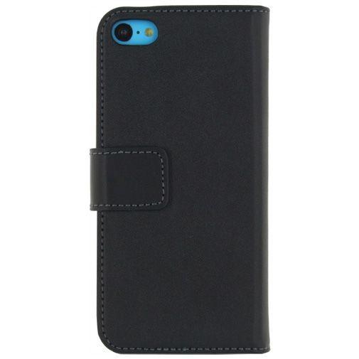 Productafbeelding van de Mobilize Classic Wallet Book Case Black Apple iPhone 5C