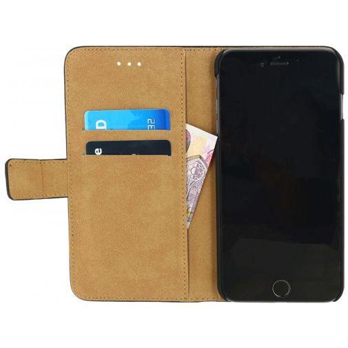 Productafbeelding van de Mobilize Classic Wallet Book Case Black Apple iPhone 7 Plus/8 Plus