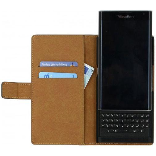 Productafbeelding van de Mobilize Classic Wallet Book Case Black BlackBerry Priv