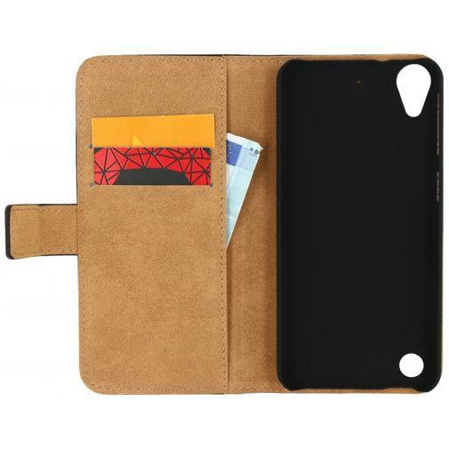 Productafbeelding van de Mobilize Classic Wallet Book Case Black HTC Desire 530