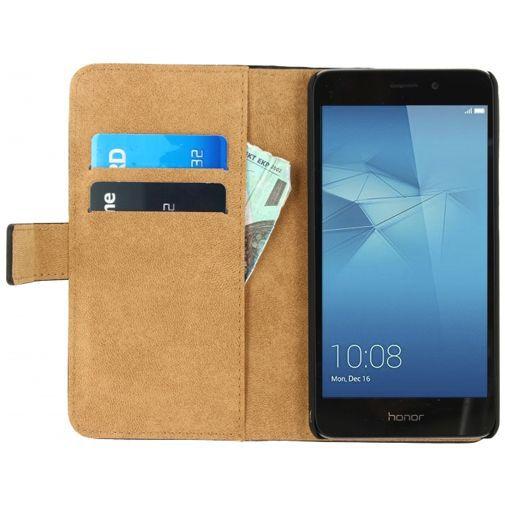 Productafbeelding van de Mobilize Classic Wallet Book Case Black Honor 5C/7 Lite