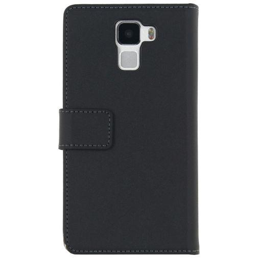 Productafbeelding van de Mobilize Classic Wallet Book Case Black Honor 7