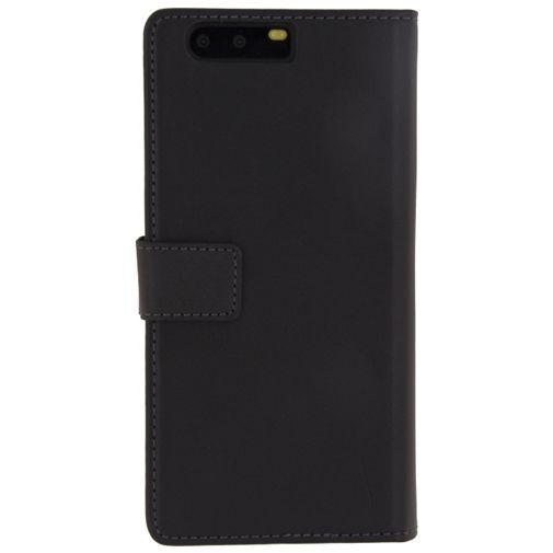 Productafbeelding van de Mobilize Classic Wallet Book Case Black Huawei P10 Plus