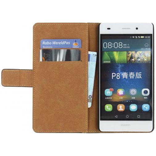 Productafbeelding van de Mobilize Classic Wallet Book Case Black Huawei P8 Lite