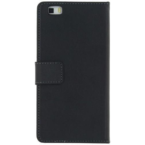 Produktimage des Mobilize Classic Wallet Book Case Schwarz Huawei P8 Lite