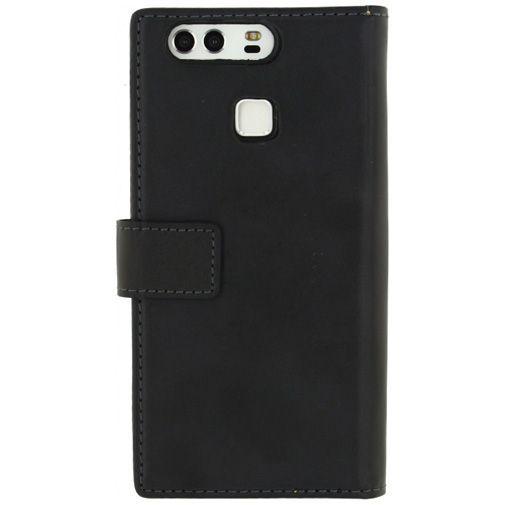 Productafbeelding van de Mobilize Classic Wallet Book Case Black Huawei P9