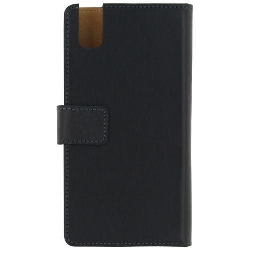 Productafbeelding van de Mobilize Classic Wallet Book Case Black Huawei Shot X