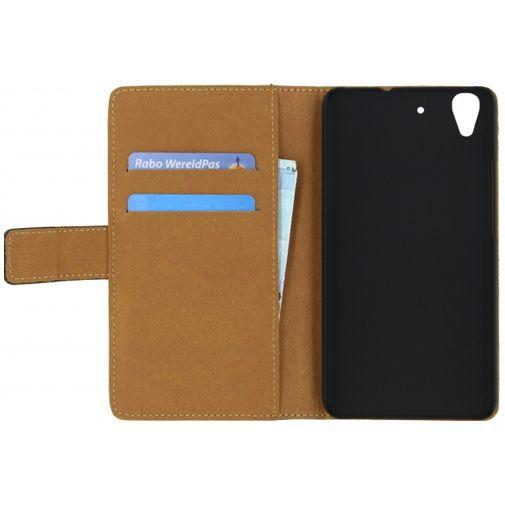 Productafbeelding van de Mobilize Classic Wallet Book Case Black Huawei Y6