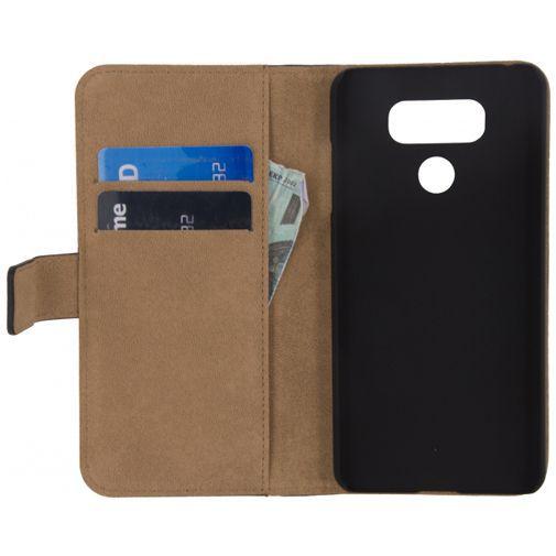 Productafbeelding van de Mobilize Classic Wallet Book Case Black LG G6