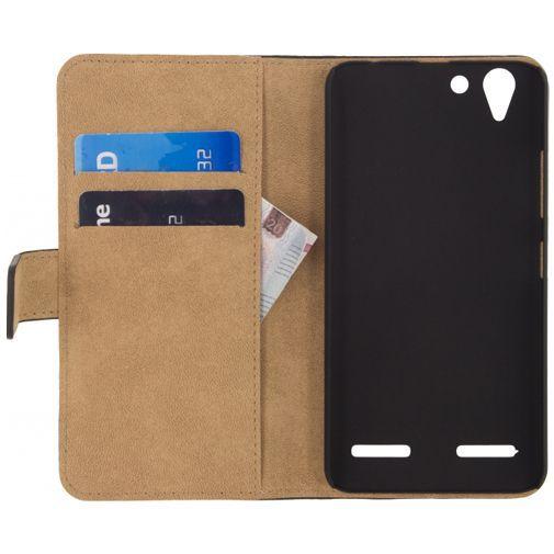 Productafbeelding van de Mobilize Classic Wallet Book Case Black Lenovo K5
