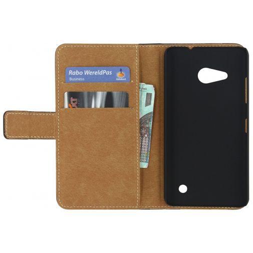 Productafbeelding van de Mobilize Classic Wallet Book Case Black Microsoft Lumia 550