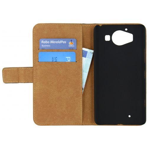 Productafbeelding van de Mobilize Classic Wallet Book Case Black Microsoft Lumia 950
