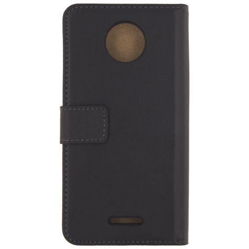 Productafbeelding van de Mobilize Classic Wallet Book Case Black Motorola Moto C Plus