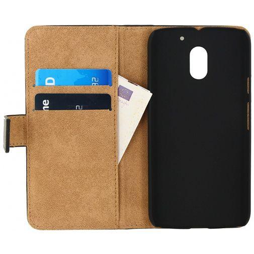 Productafbeelding van de Mobilize Classic Wallet Book Case Black Motorola Moto E (3rd Gen)
