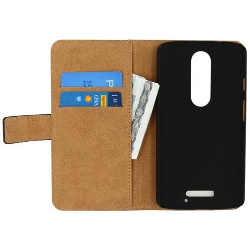 Productafbeelding van de Mobilize Classic Wallet Book Case Black Motorola Moto X Force