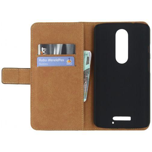 Productafbeelding van de Mobilize Classic Wallet Book Case Black Motorola Moto X Style